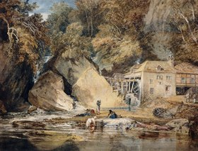 Joseph Mallord William Turner: Aberdulais Mill, Glamorganshire, Wales