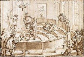 Giampietro Zanotti: Zeichenunterricht an der Accademia Clementina in Bologna