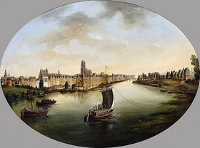 Johann Jakob Diezler: Ansicht von Frankfurt