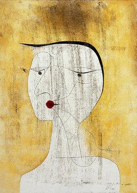 Paul Klee: Versiegelte Dame