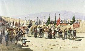 Richard Karlovich Zommer: Shakhsei-Vakhsei, eine muslimische Prozession