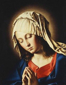 Giovanni Battista (Sassoferrato) Salvi: Die Jungfrau Maria im Gebet