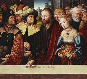Hans Johann Kemmer: Christus und die Ehebrecherin