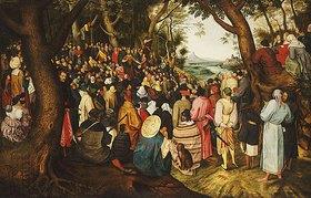 Pieter Brueghel d.J.: Die Predigt Johannes der Täufers