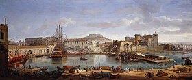 Gaspar Adriaens van Wittel: Der Hafen von Neapel