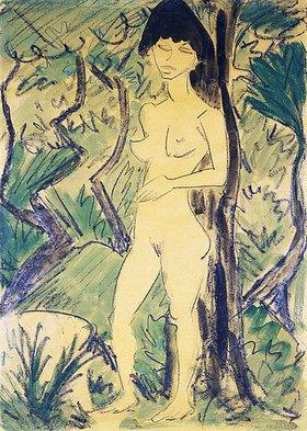 Otto Mueller: Akt im Wald