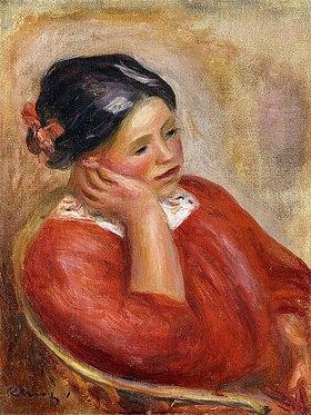 Auguste Renoir: Gabrielle mit aufgestütztem Kopf (Gabrielle acoudée)