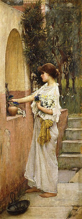 John William Waterhouse: Die Opferung