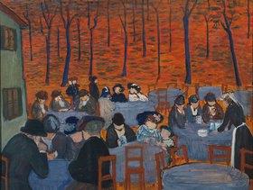 Marianne von Werefkin: Der Biergarten