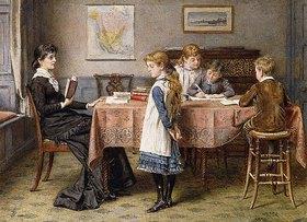 George Goodwin Kilburne: Die Unterrichtsstunde