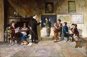 Francesco Bergamini: Im Klassenzimmer
