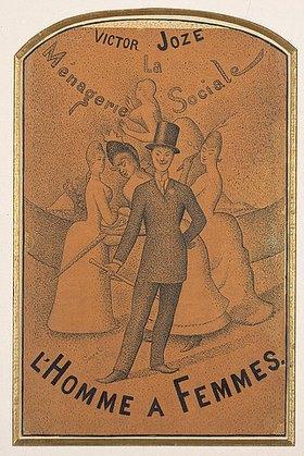 Georges Seurat: Ein Frauenliebling (L'homme à femmes)