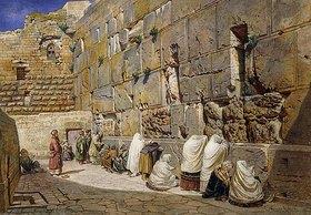 Carl Friedrich Heinrich Werner: Die Klagemauer in Jerusalem