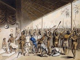 C. Bray: Ein Stammeshäuptling verurteilt Europäer zu Tode