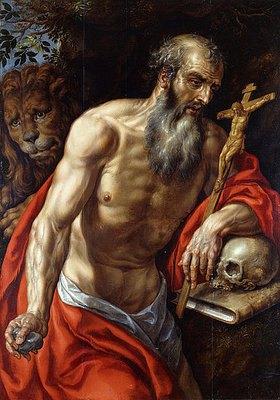 Hendrick de Clerck: Der heilige Hieronymus