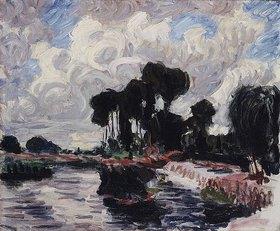 Roderick O'Connor: Der Damm in Montigny (Le Barrage à Montigny)