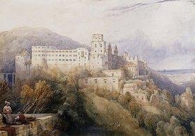 David Roberts: Das Heidelberger Schloss, Residenz der Kurfürsten von der Pfalz