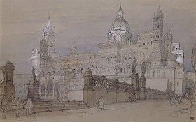 David Roberts: Die Kathedrale von Palermo