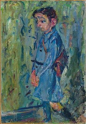 Chaim Soutine: Der blaue Schüler (L'ecolier bleu)