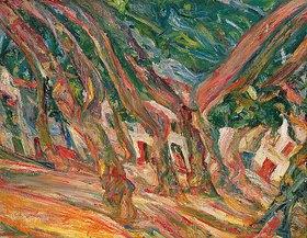 Chaim Soutine: Platanen in Ceret (Les platanes à Ceret)