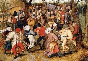 Pieter Brueghel d.J.: Der Hochzeitstanz