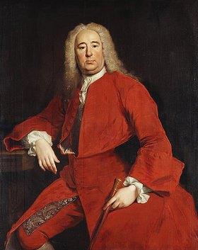 Allan Ramsay: Portrait eines Herren, überliefert als Georg Friedrich Händel