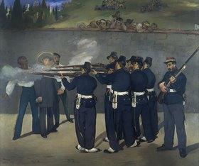 Edouard Manet: Die Erschießung Kaiser Maximilians von Mexico