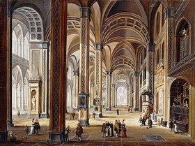 Christian Stöcklin: Interieur einer Renaissance Kirche