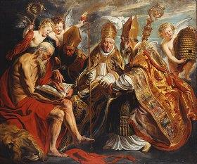 Jacob Jordaens: Die vier Kirchenväter