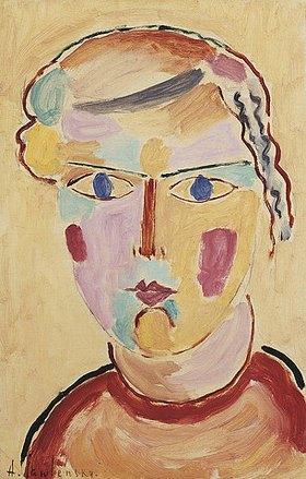 Alexej von Jawlensky: Mädchenkopf, helle Erscheinung