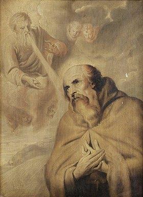 Anthonis van Dyck: Die Vision des Heiligen Franz von Assisi