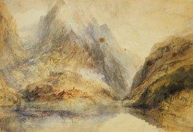 Joseph Mallord William Turner: Eine Schweizer Alpenlandschaft
