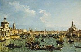 Bernardo (Canaletto) Bellotto: Bacino di San Marco, Venedig