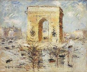 Gustave Loiseau: L'Arc de Triomphe, Place de l'Etoile