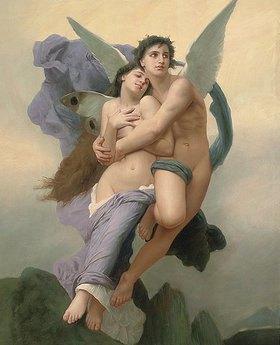 William Adolphe Bouguereau: Die Entführung der Psyche