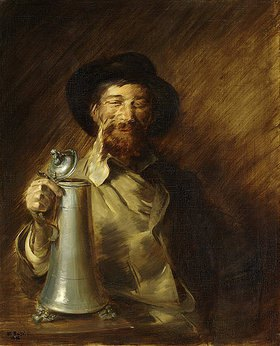 Wilhelm Busch: Der Trinker