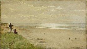 Hans Thoma: Strand bei Liverpool / Englische Küste