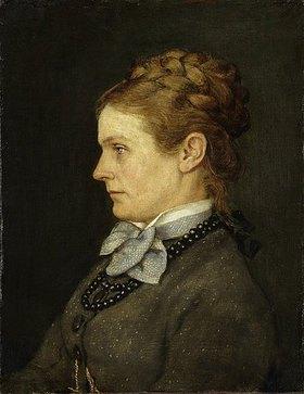 Hans Thoma: Bildnis der Frau Sophie Eiser. (Frau des Arztes Dr. Otto Eiser)