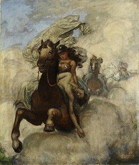Hans Thoma: Walkürenritt. 1876 bis