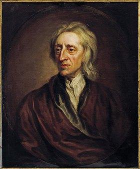Sir Godfrey Kneller: Bildnis von John Locke (1632-1704)