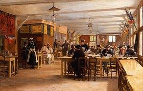 Emile Georges Weiss: In einem Kaffeehaus