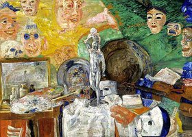 James Ensor: Stilleben im Atelier