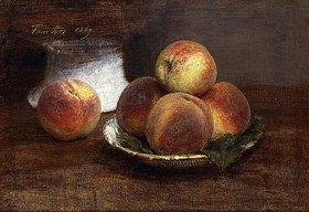 Henri de Fantin-Latour: Eine Schale mit Pfirsichen (Le Bol de Pêches)