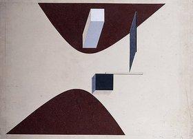 El Lissitzky: Proun N 90 (Ismenbuch)