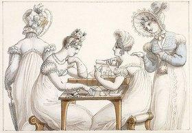 Edward Francis Burney: Damen beim Fertigen von Scherenschnitten
