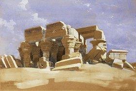 David Roberts: Der Tempel Kom Ombo in Ägypten