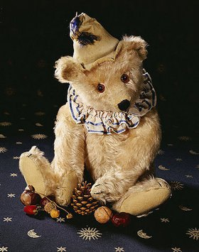 Ein seltener Steiff 'Teddy Clown' Bär. Cir