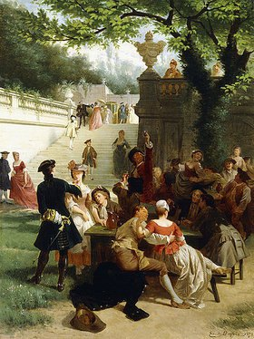 Emile Antoine Bayard: Das Fest im Park (Fête Champêtre)