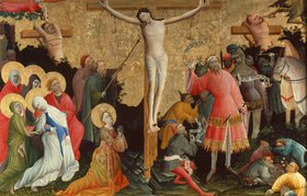Meister des Bersword-Altars: Berswold-Altar. Kreuzigung Christi