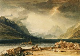 Joseph Mallord William Turner: Thunersee, Schweiz